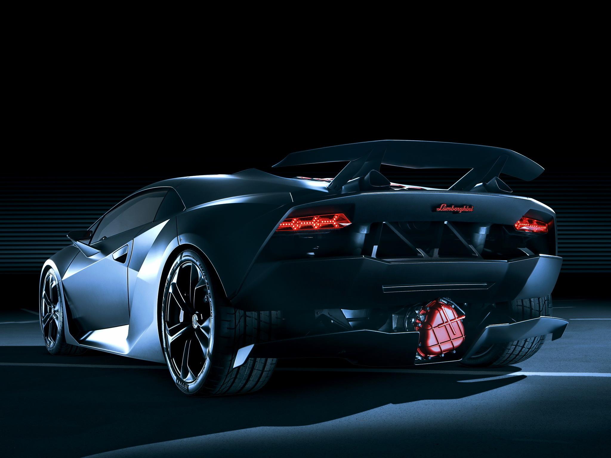 3d Wallpapers Lamborghini Wallpapers: 9 Lamborghini Sesto Elemento HD Wallpapers