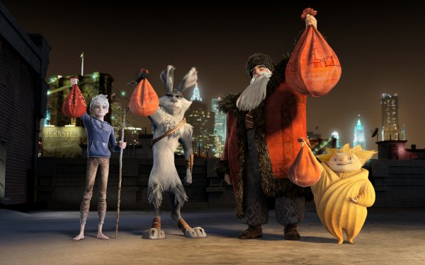 Movie Rise Of The Guardians Jack Frost North E. Aster Bunnymund Sandman HD Wallpaper | Background Image