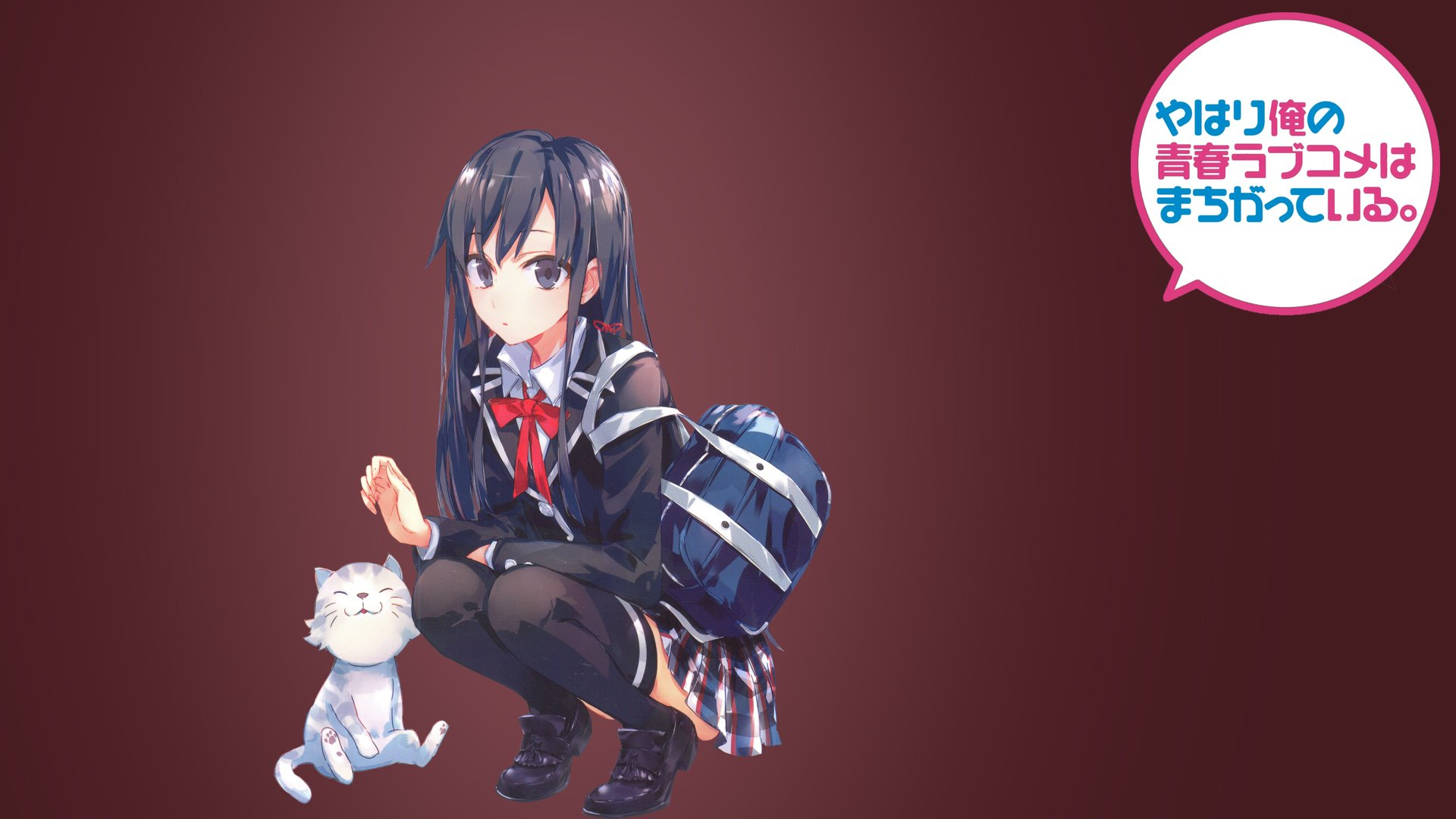 Love comedy Wallpaper : My Teen Romantic comedy SNAFU Full HD Wallpaper and Background 1920x1080 ID:586391