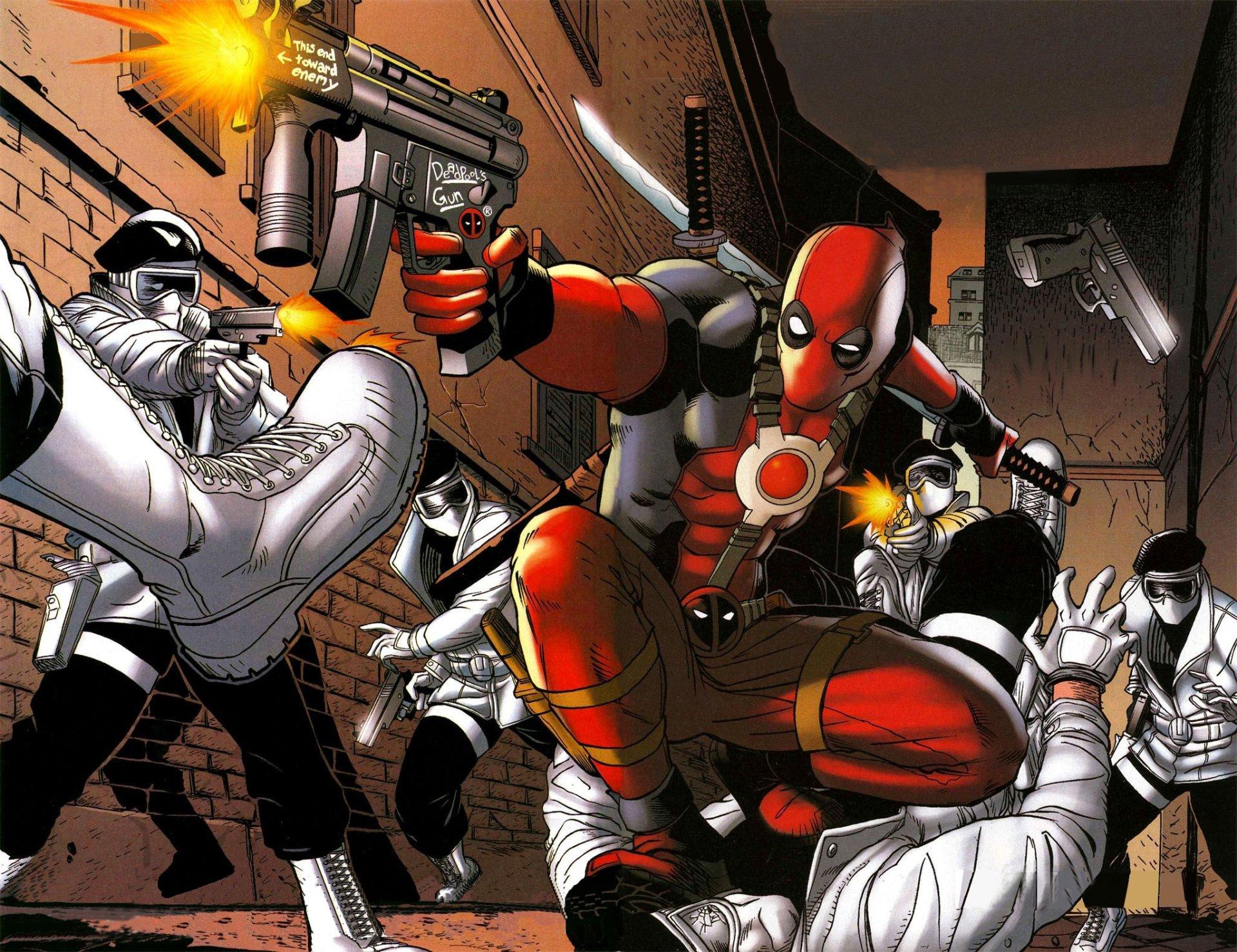 Comics - Deadpool  Wallpaper