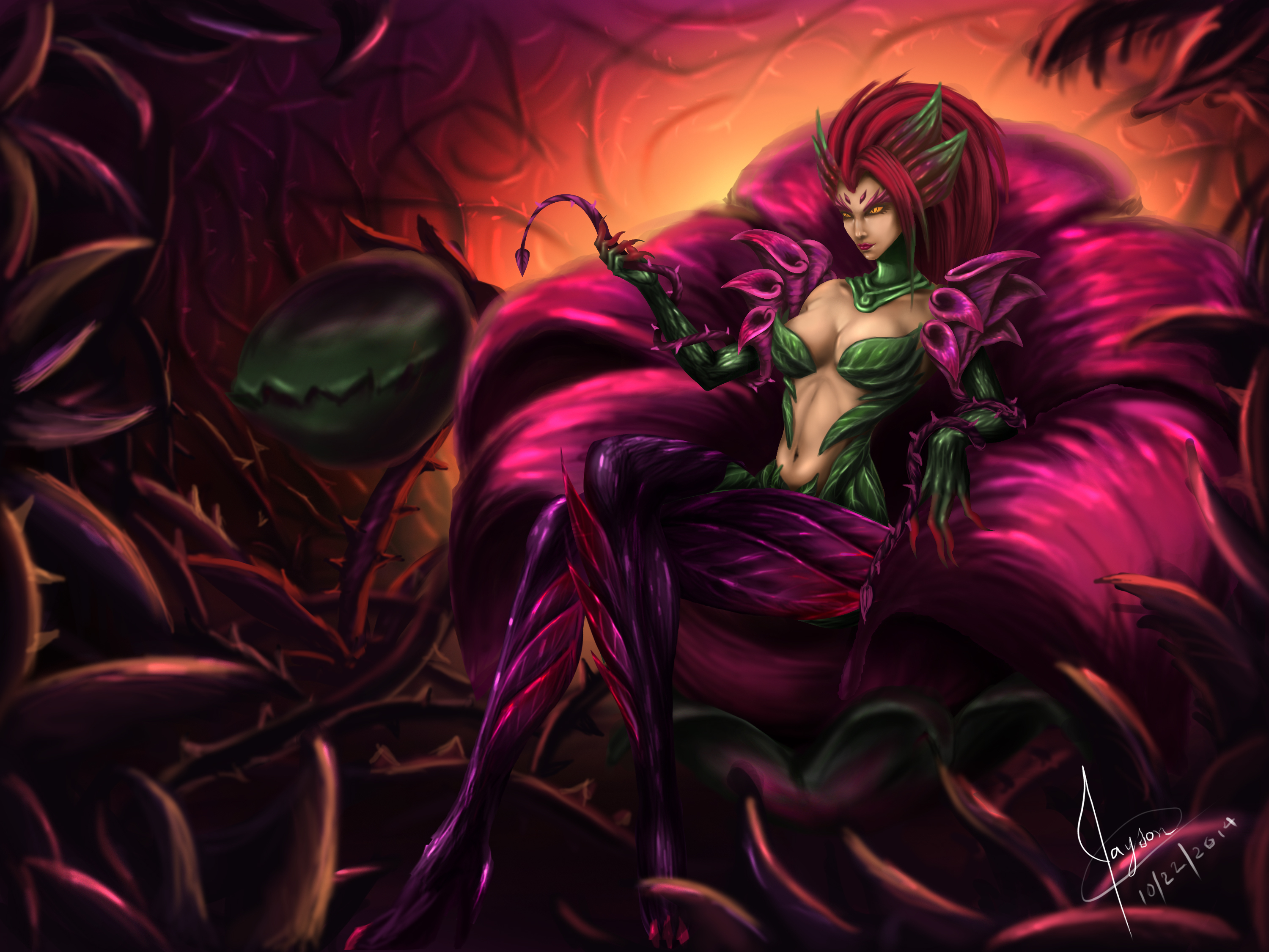 zyra league of - photo #7