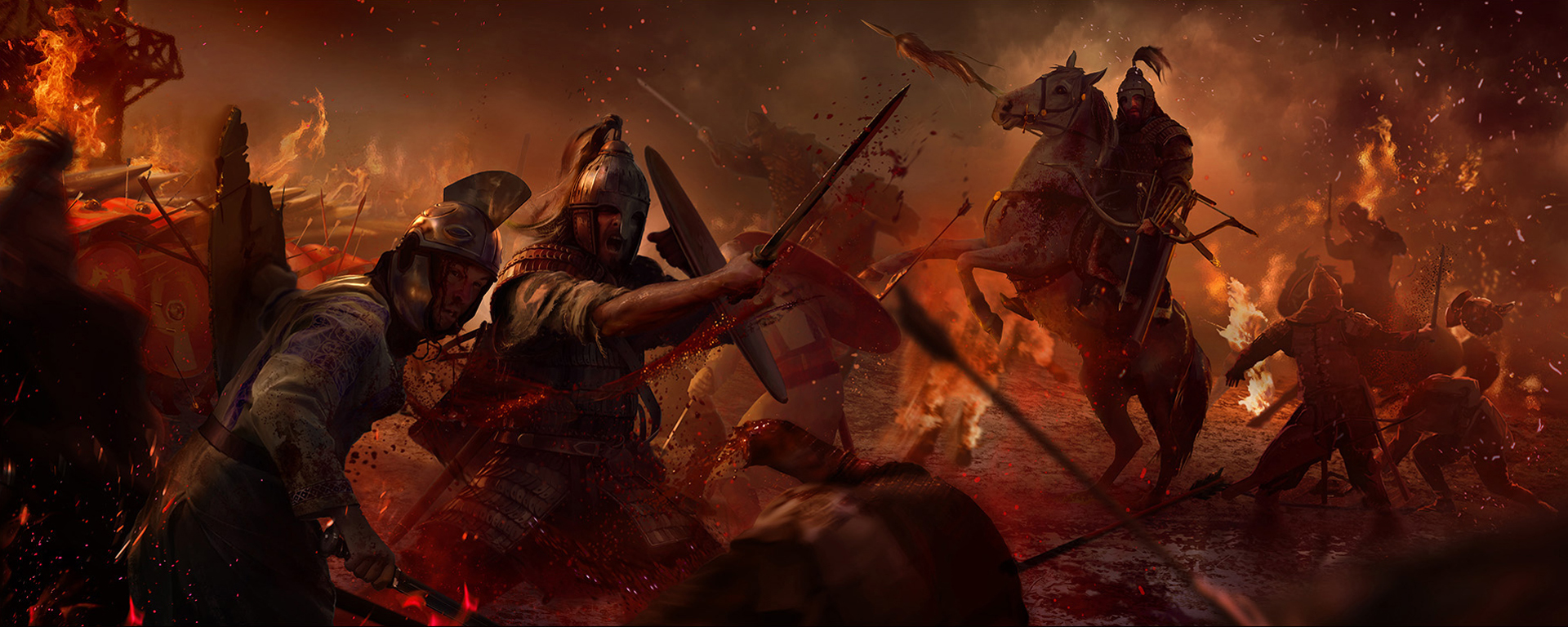 total war attila wallpaper and background image