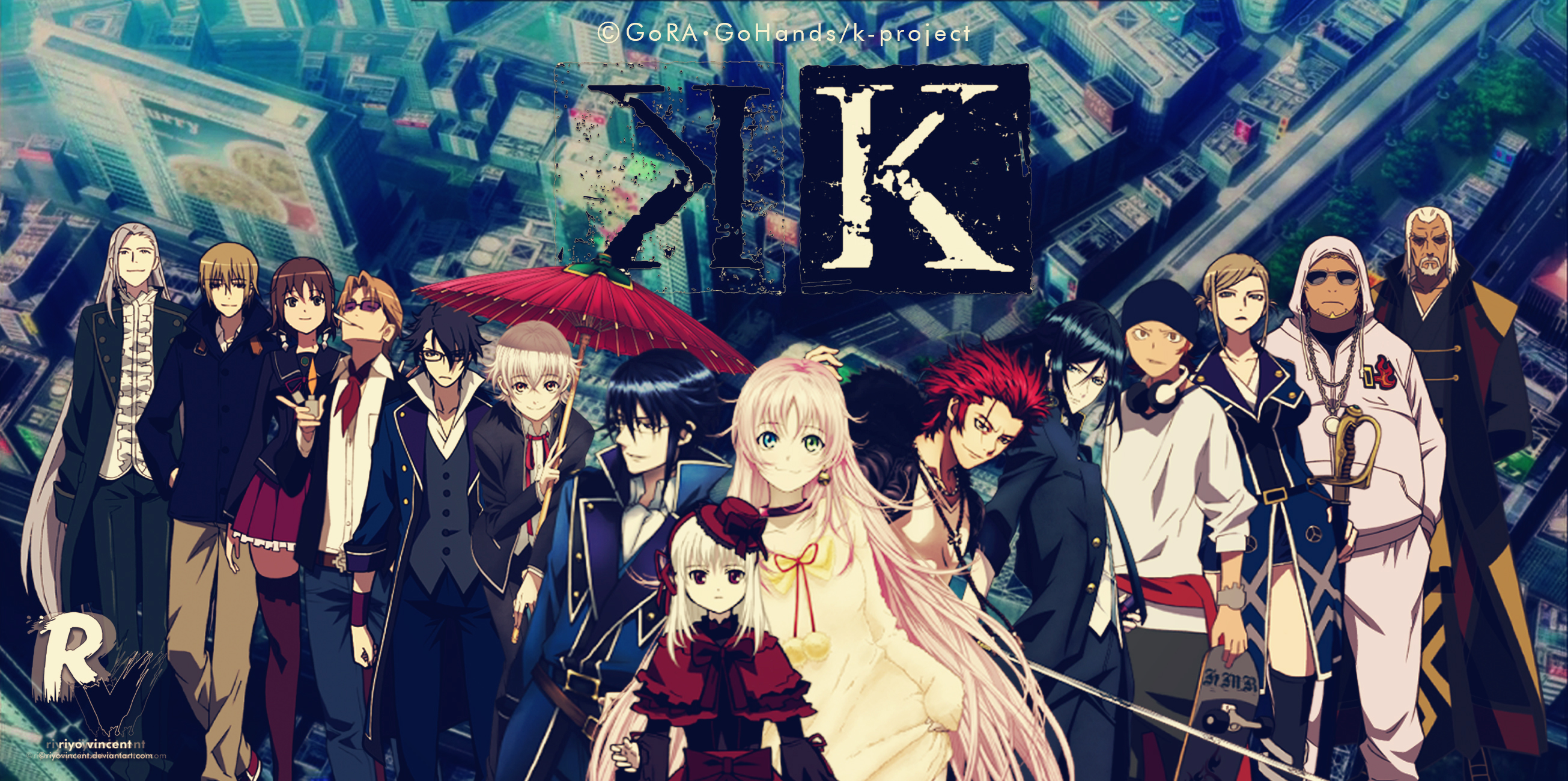 Anime Wallpapers K Project HD 4K Download For Mobile iPhone & PC