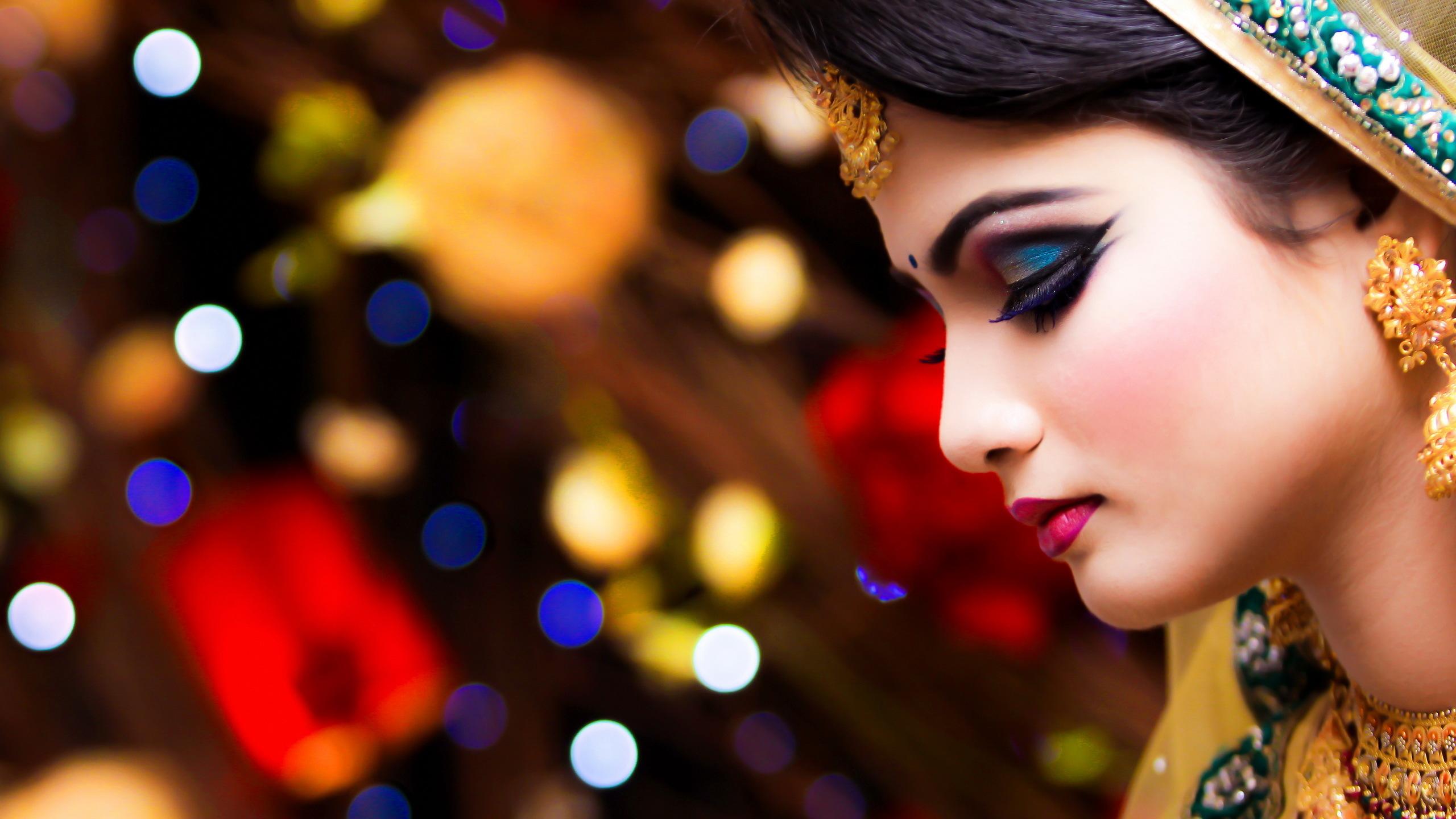 8ba1580d5368 ... Wedding Dress Woman Wreath · HD Wallpaper | Background Image ID:591240