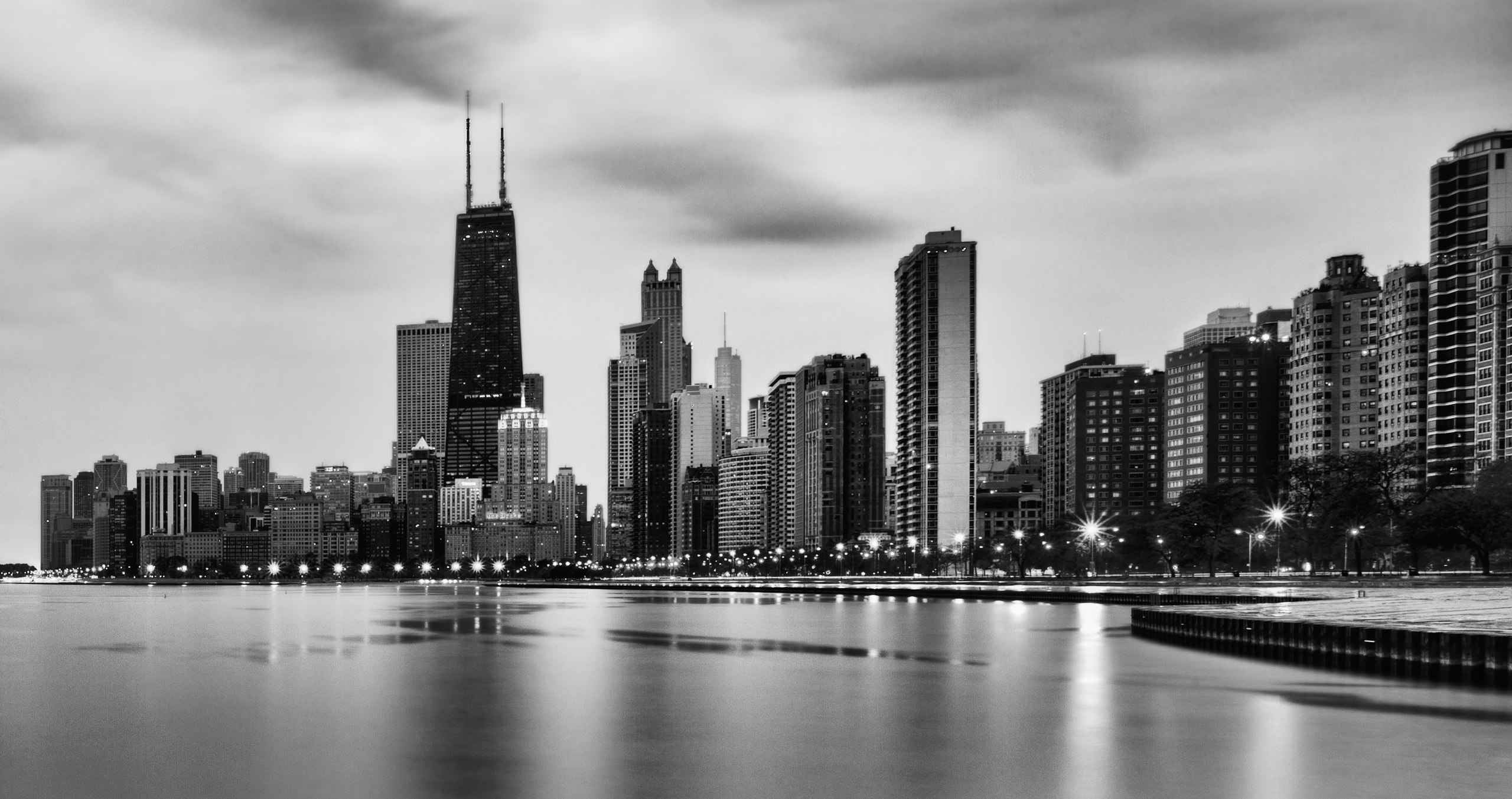 Chicago Hd Wallpaper Background Image 2560x1353 Id