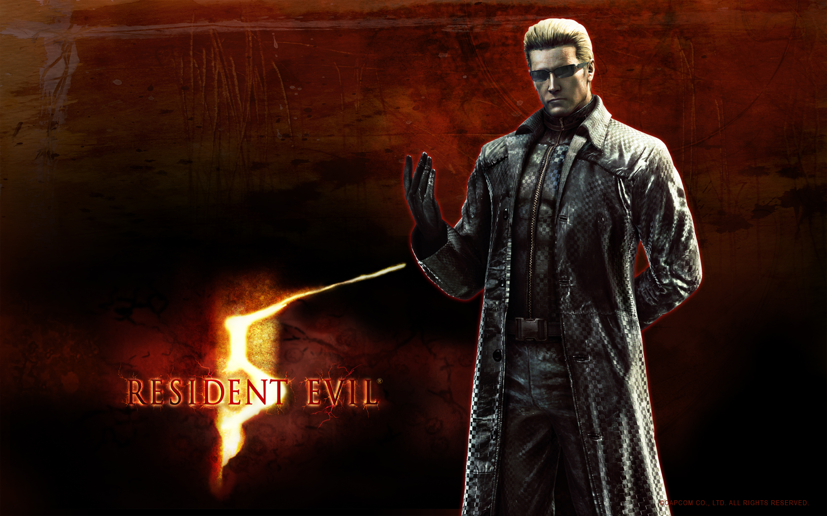Resident evil wallpaper and background image 1680x1050 - Wallpaper resident evil 5 ...