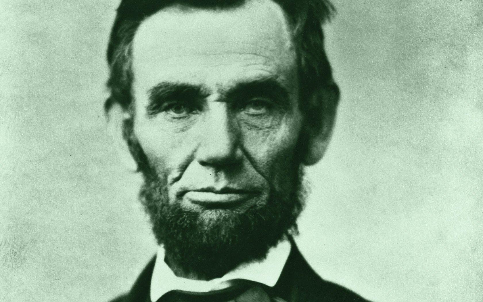 Men - Abraham Lincoln  Us President Wallpaper