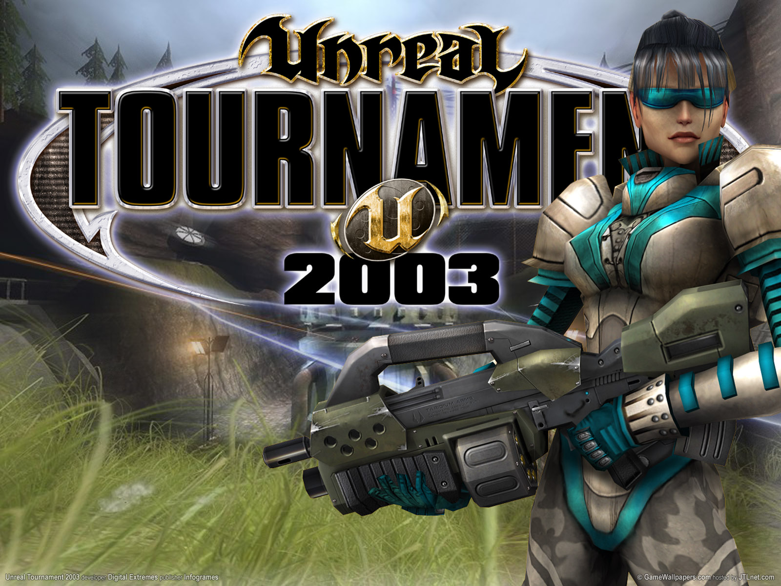 Unreal tournament wallpaper and background image for Unreal tournament 2003