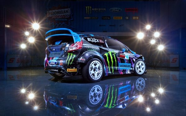 Vehicles Ford Fiesta RX43 Ford Car Ford Fiesta Race Car HD Wallpaper   Background Image