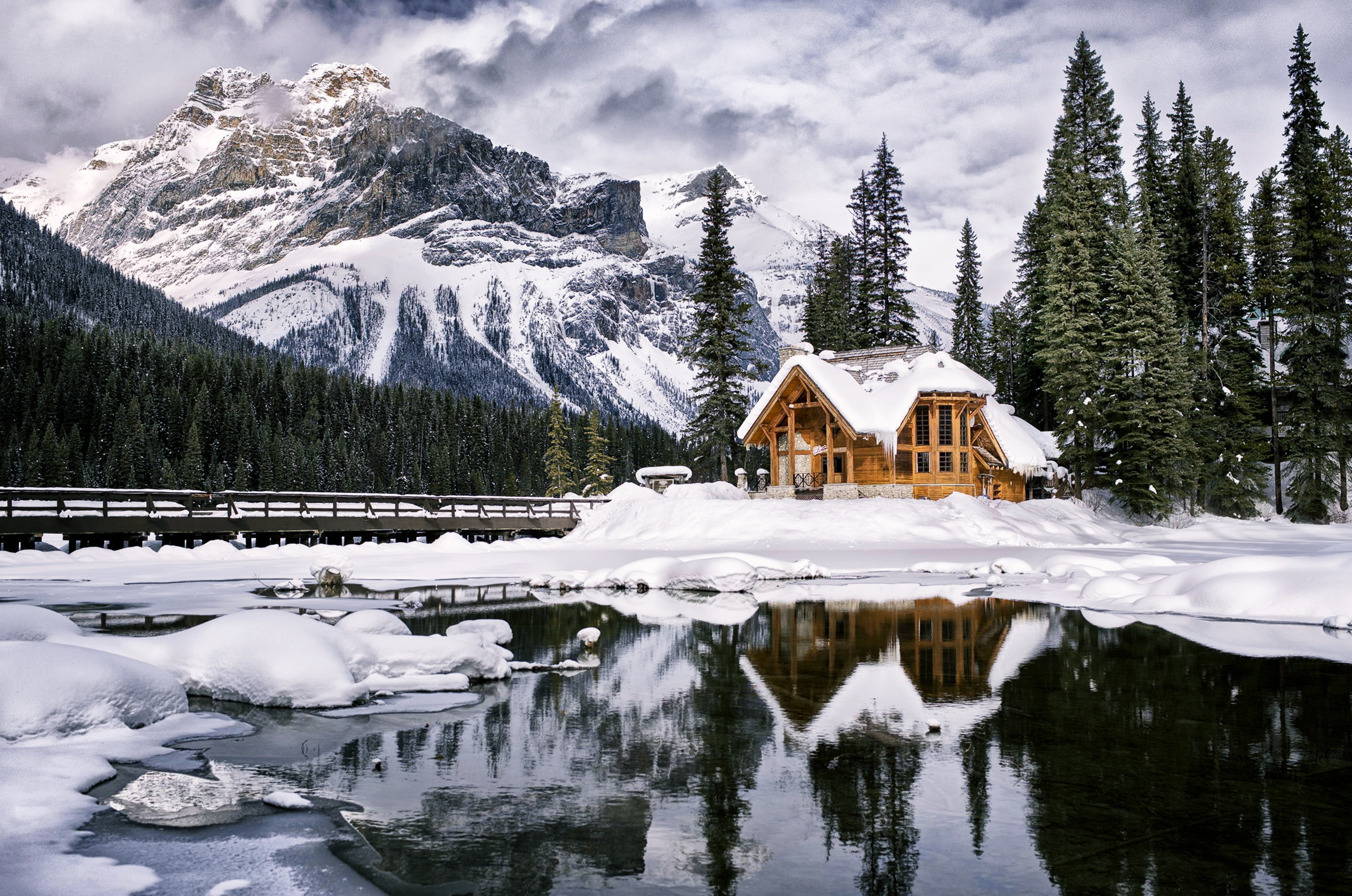 Haus am see wallpaper  Landscape 4k Ultra HD Wallpaper and Hintergrund | 3840x2546 | ID ...