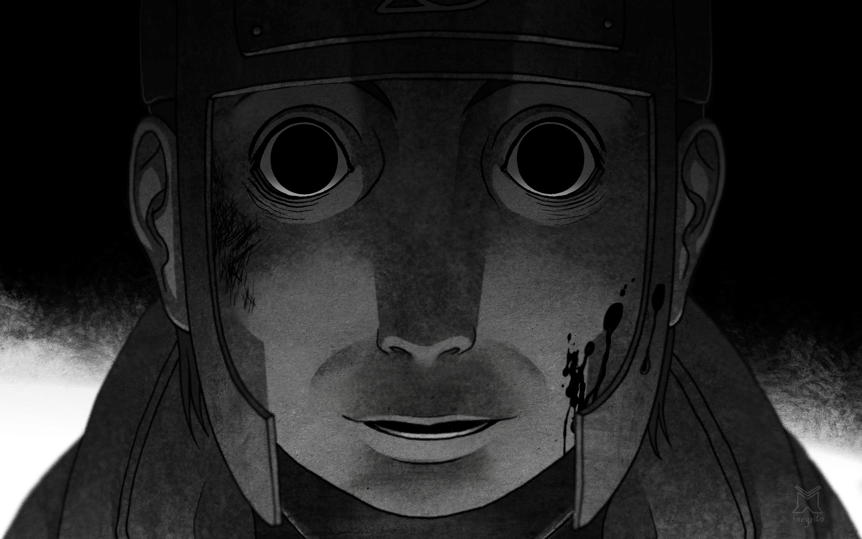 Great Wallpaper Naruto Black And White - 595878  Gallery_597691.png