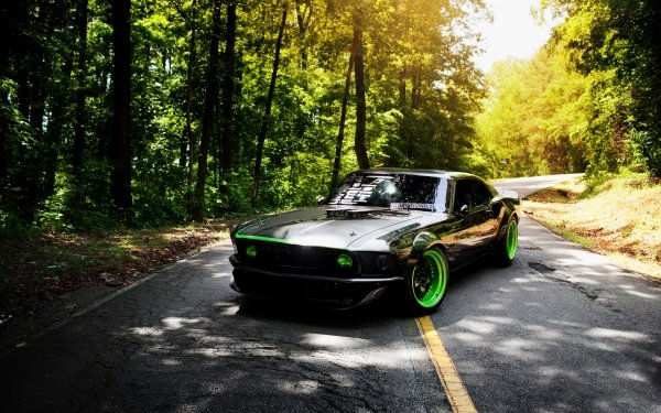 Fahrzeuge Ford Mustang RTR-X Ford Tuning Ford Mustang Black Car Muscle Car HD Wallpaper | Hintergrund