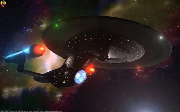TV Show Star Trek: The Next Generation Star Trek Starship Enterprise Futuristic HD Wallpaper | Background Image