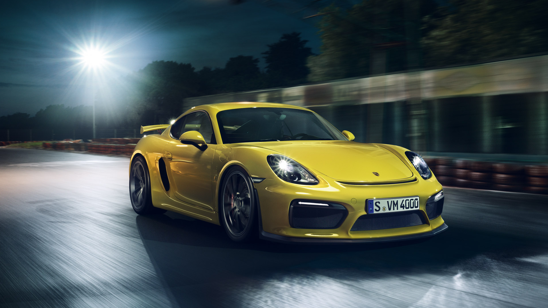 Cayman Gt4 Wall Paper: Porsche Cayman GT4 Full HD Wallpaper And Background Image