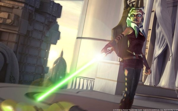 TV Show Star Wars: The Clone Wars Star Wars Ahsoka Tano Jedi HD Wallpaper | Background Image