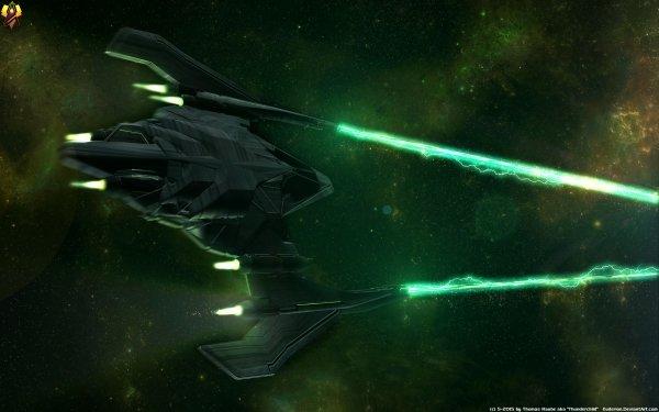 Sci Fi Spaceship Starfighter HD Wallpaper   Background Image