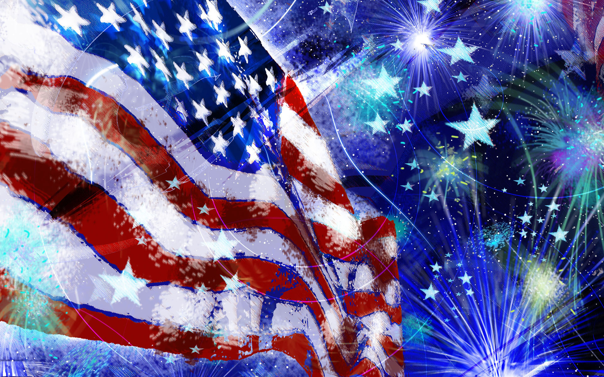 4th Of July Full HD Wallpaper and Background Image ...