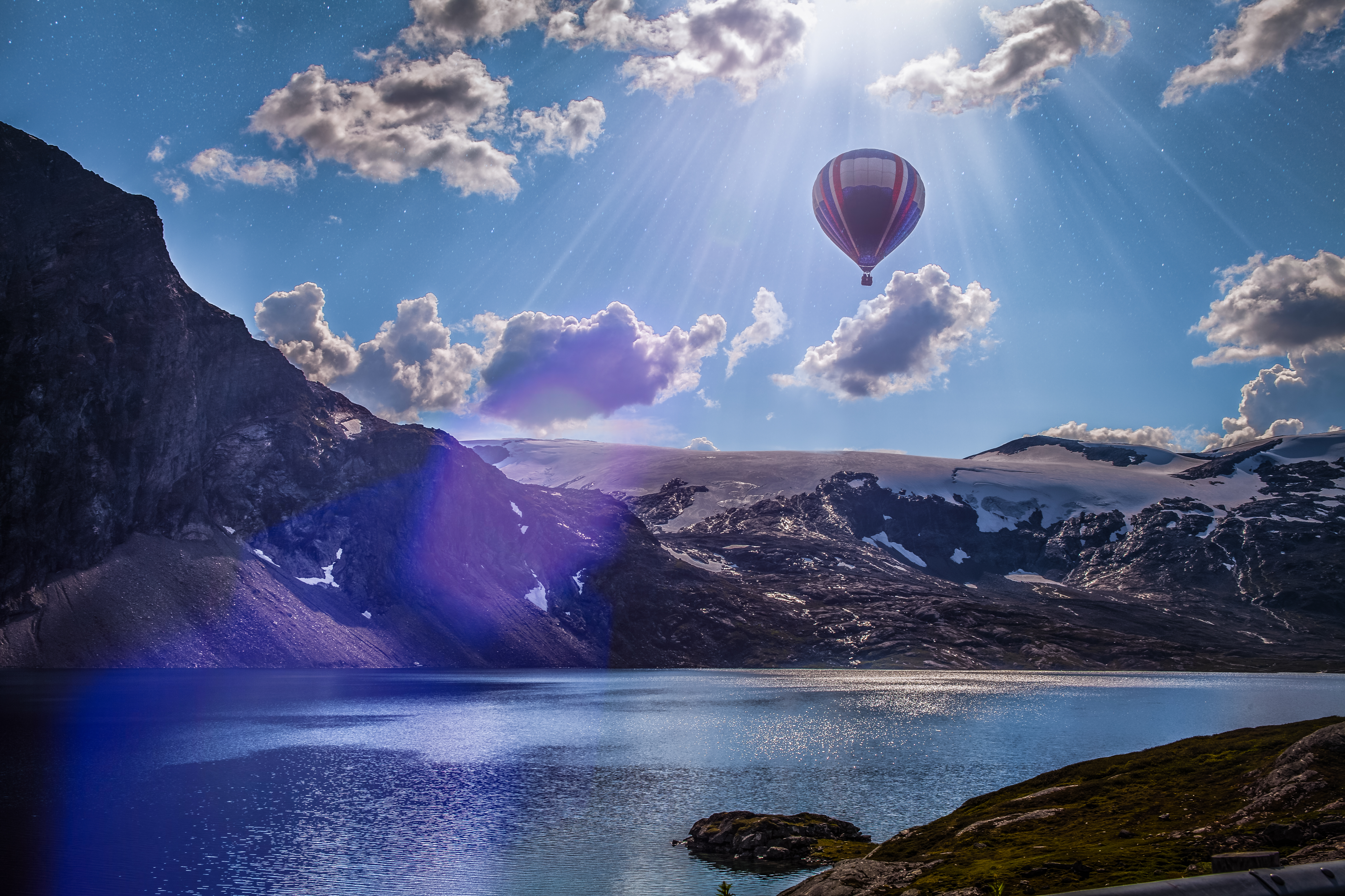 Hot air balloon 5k retina ultra hd wallpaper background image 5616x3744 id 600458 - Air wallpaper hd ...