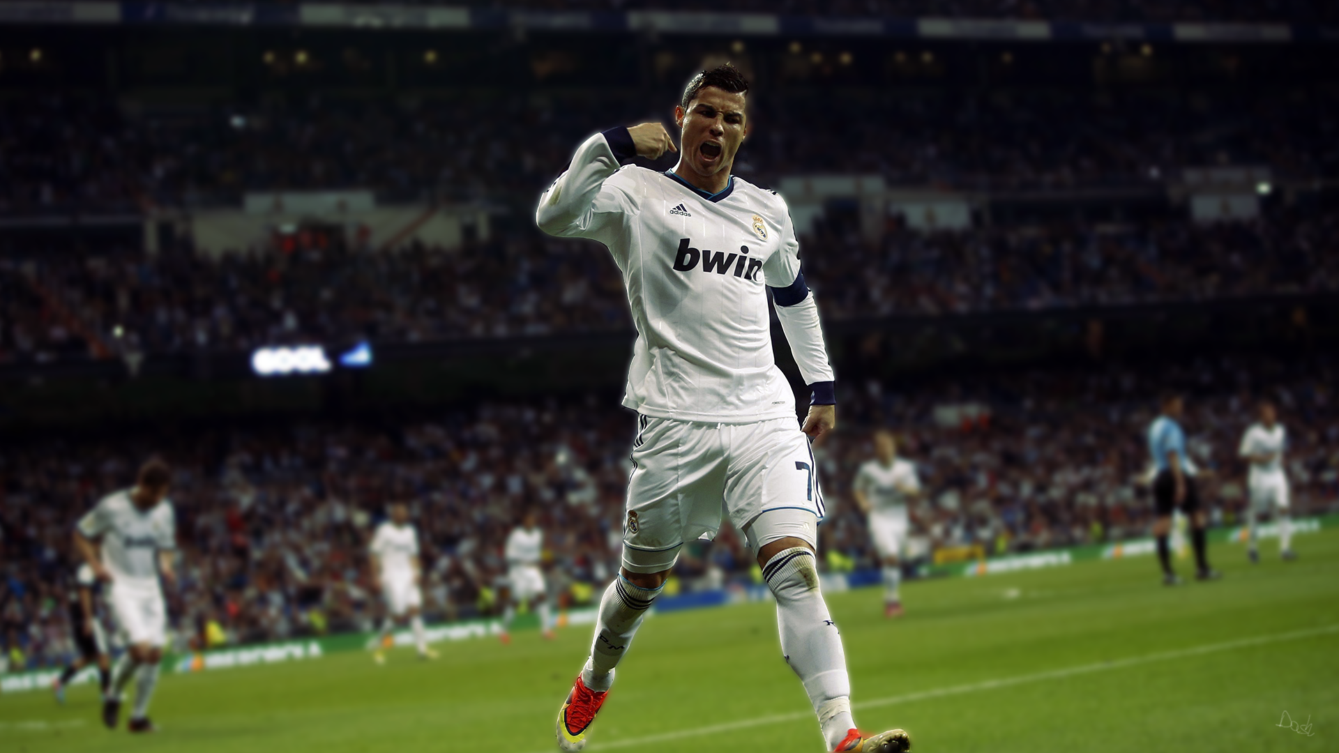 Sports - Cristiano Ronaldo  Portuguese Soccer Real Madrid C.F. Wallpaper