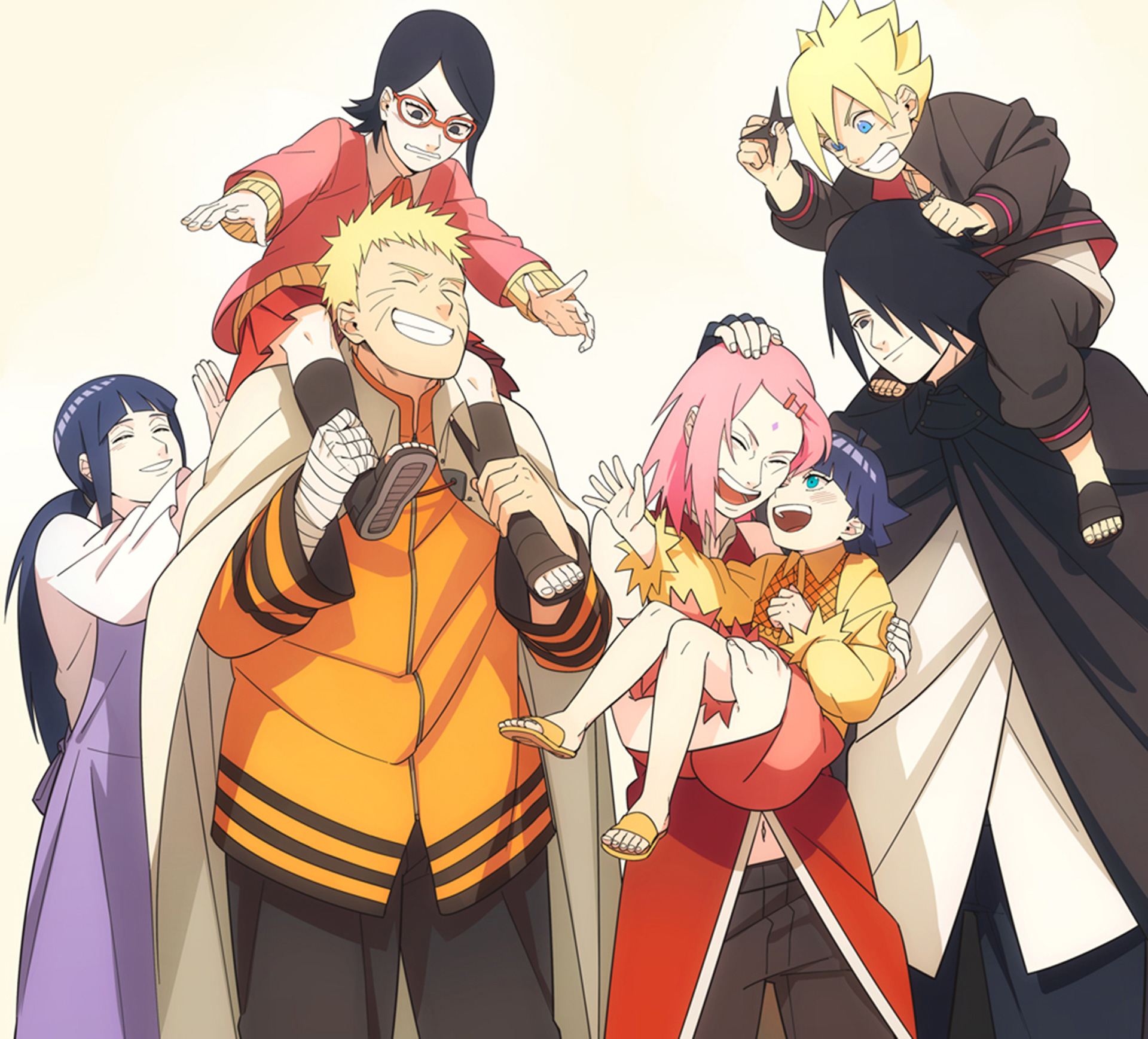 Naruto and Sasuke's family 2 Papel de Parede and Planos de