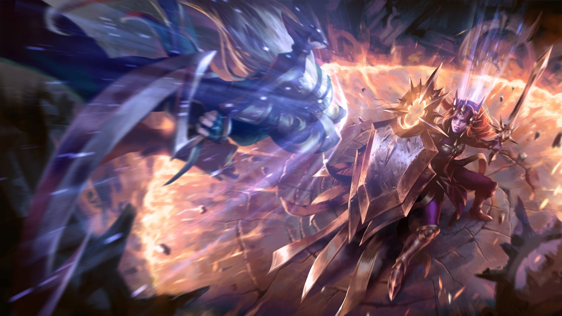 League Of Legends Hd Wallpaper Hintergrund 1920x1080 Id602045