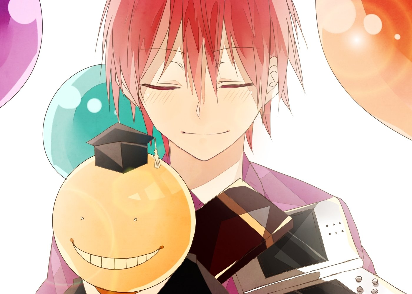 Karma akabane and koro sensei bakgrund and bakgrund - Anime wallpaper assassination classroom ...