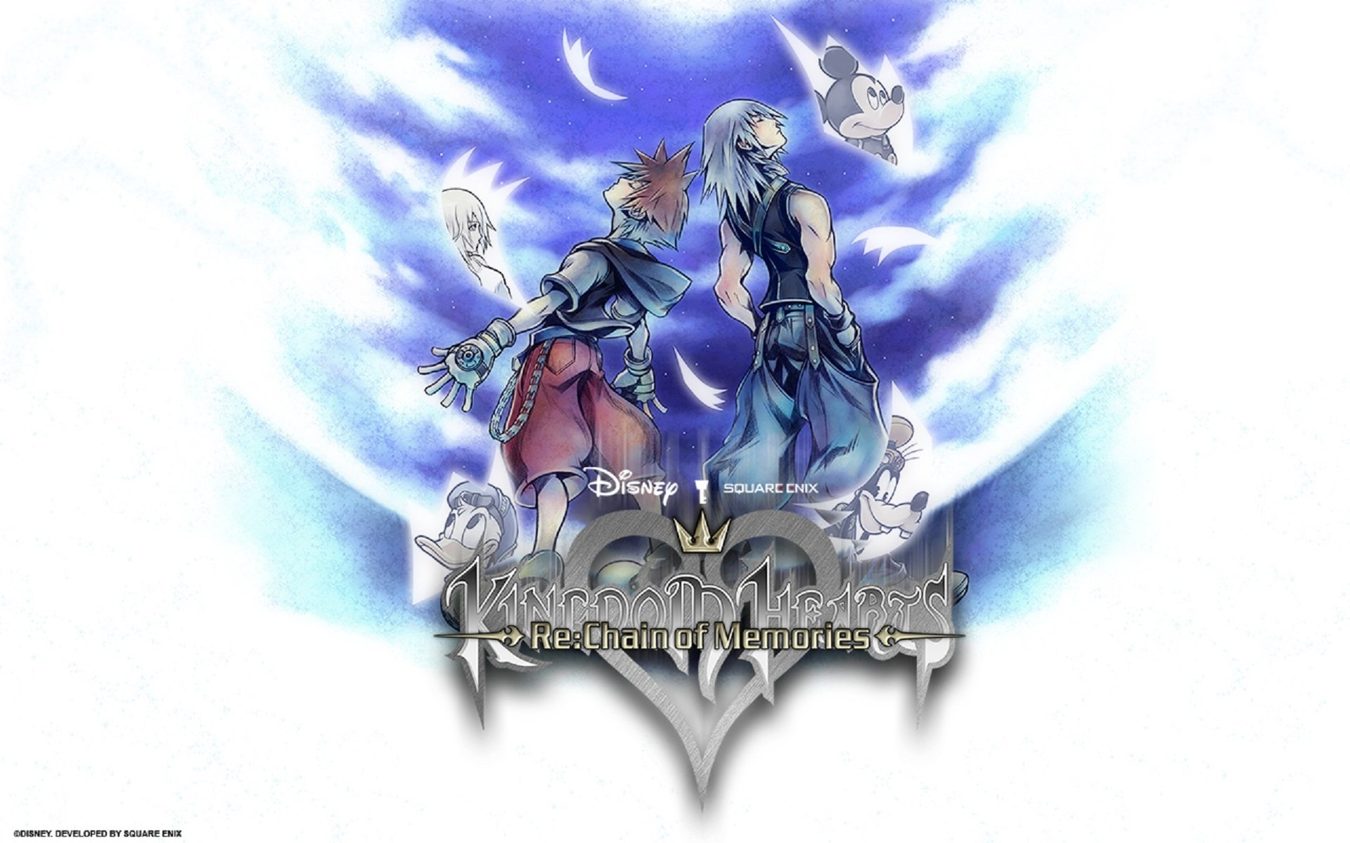Kingdom Hearts Re Chain Of Memories Hd Wallpaper Background