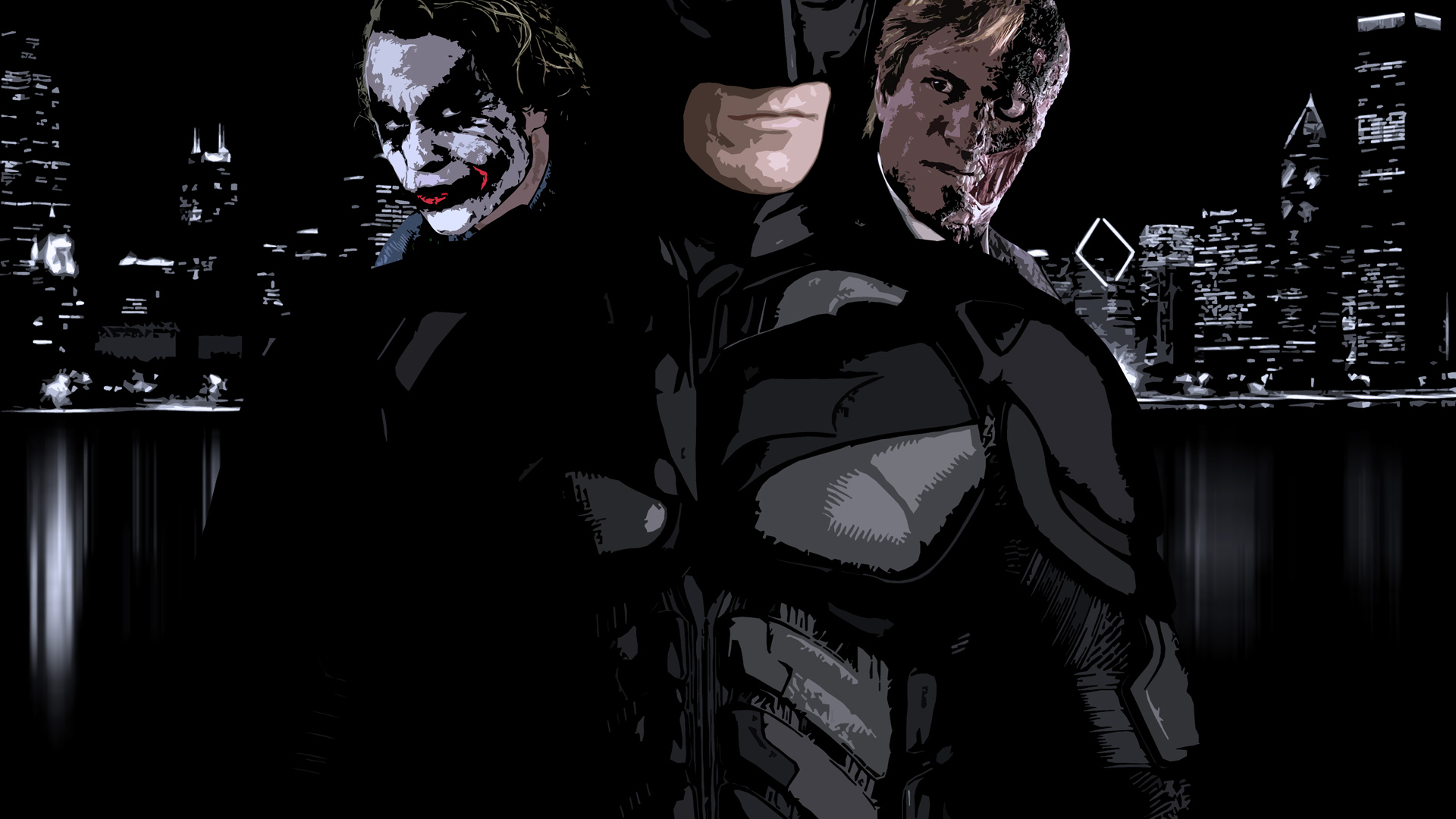 the dark knight full hd wallpaper and background image
