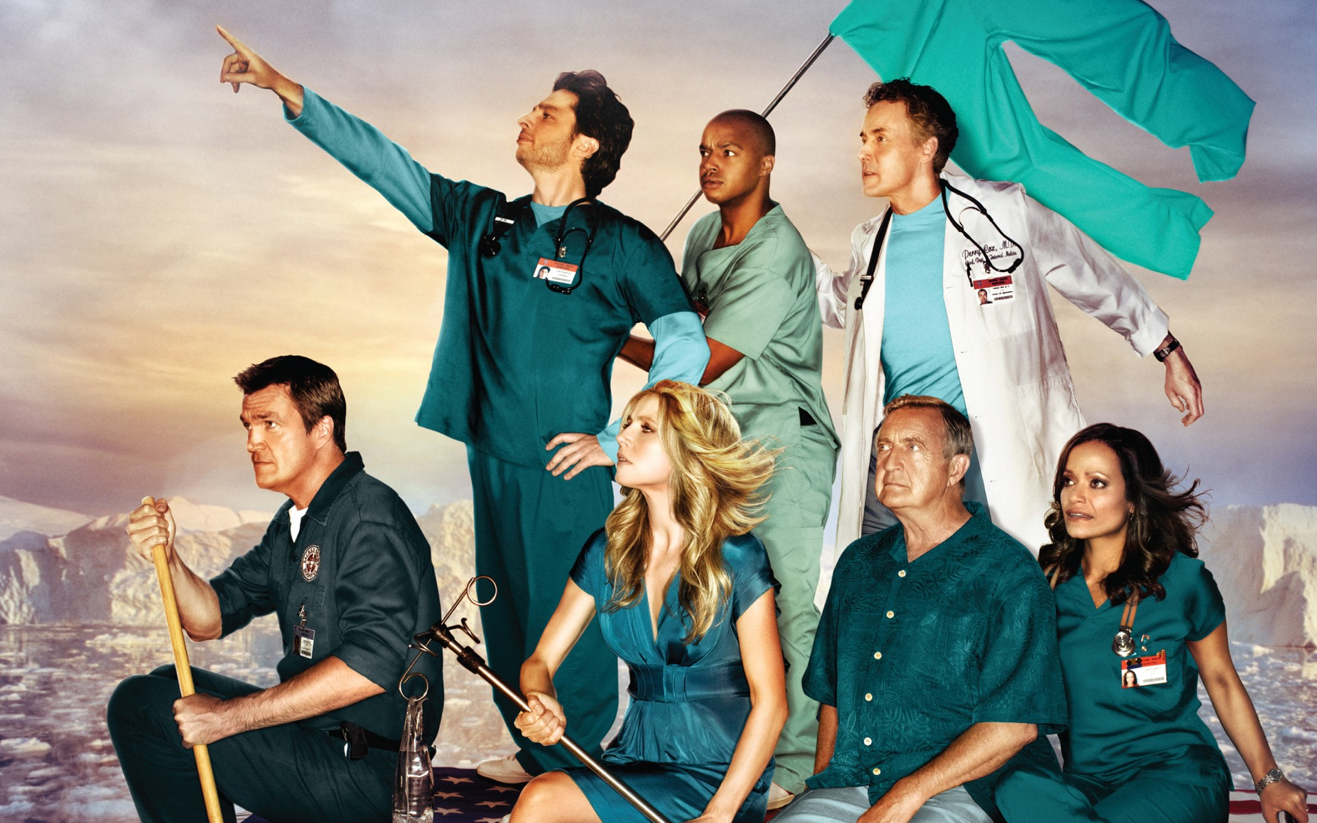Scrubs tv show cast