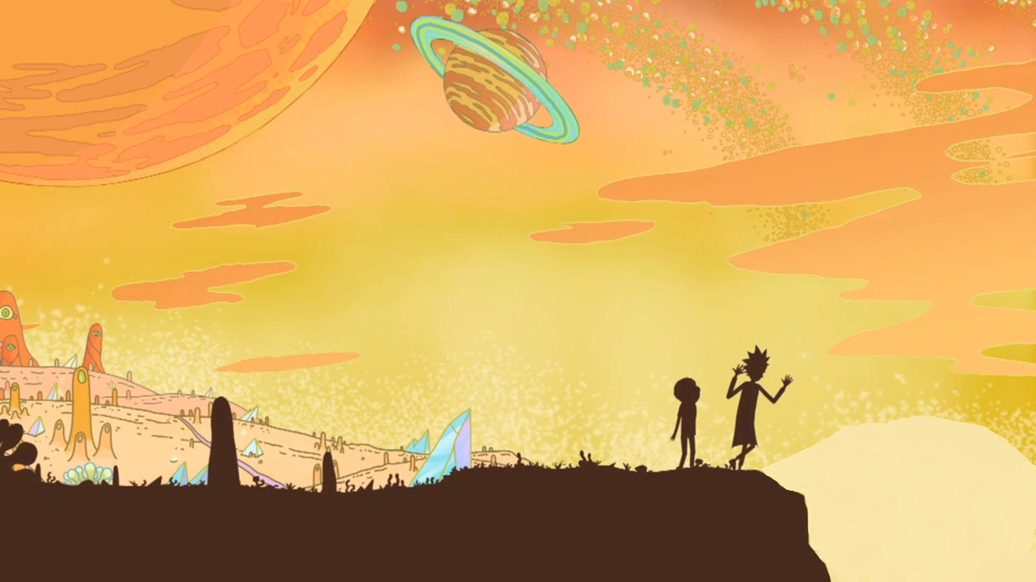 Rick and Morty HD Wallpaper | Background Image | 2048x1152 ...