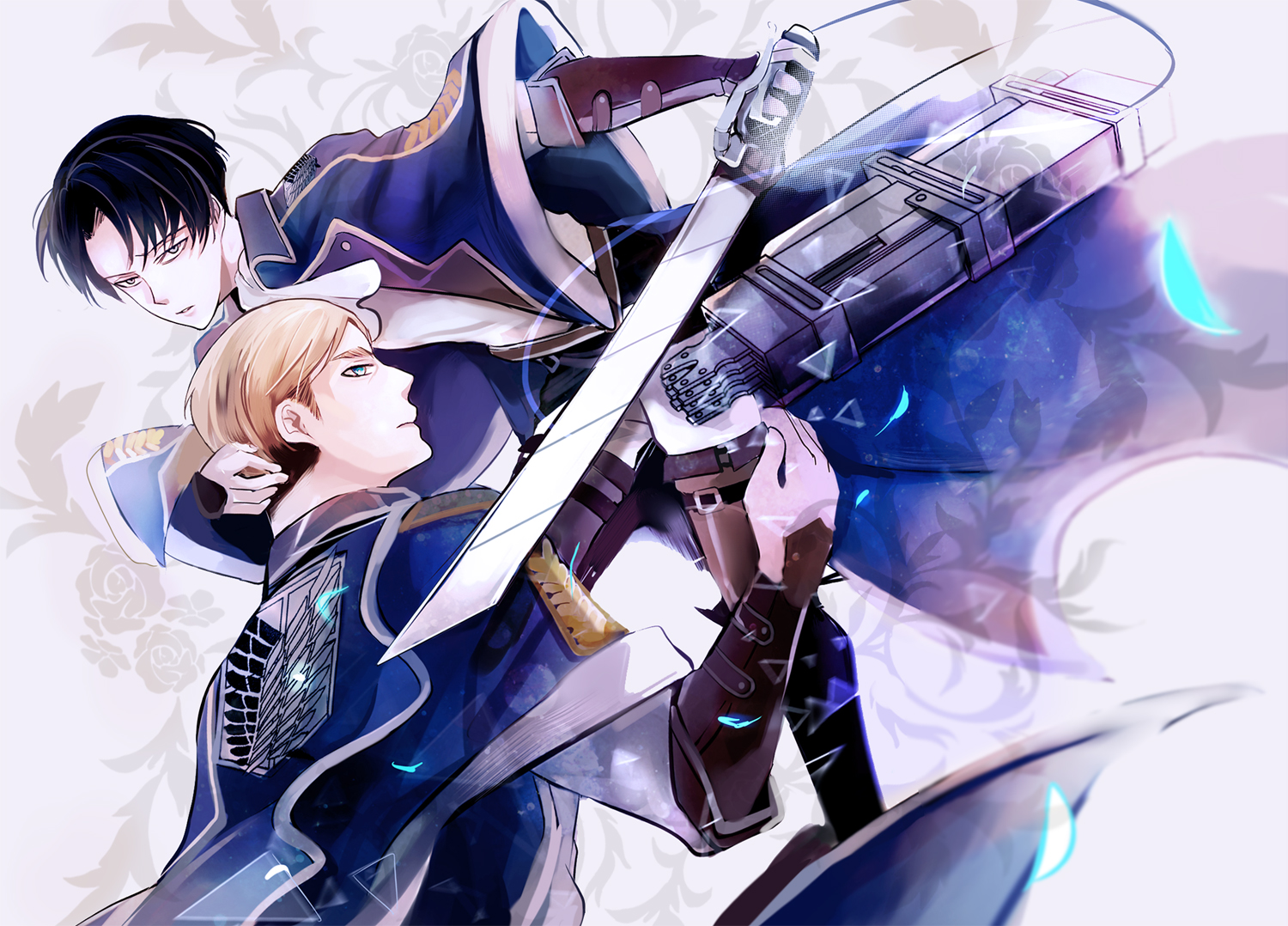 Erwin Smith And Levi Ackerman Papel
