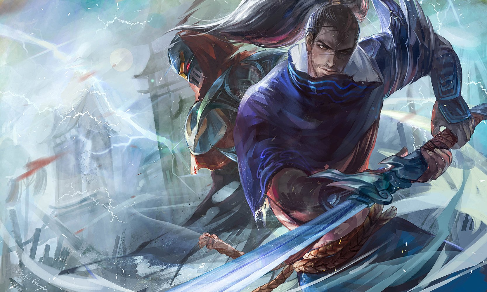 49 Yasuo League Of Legends Hd Wallpapers Background Images