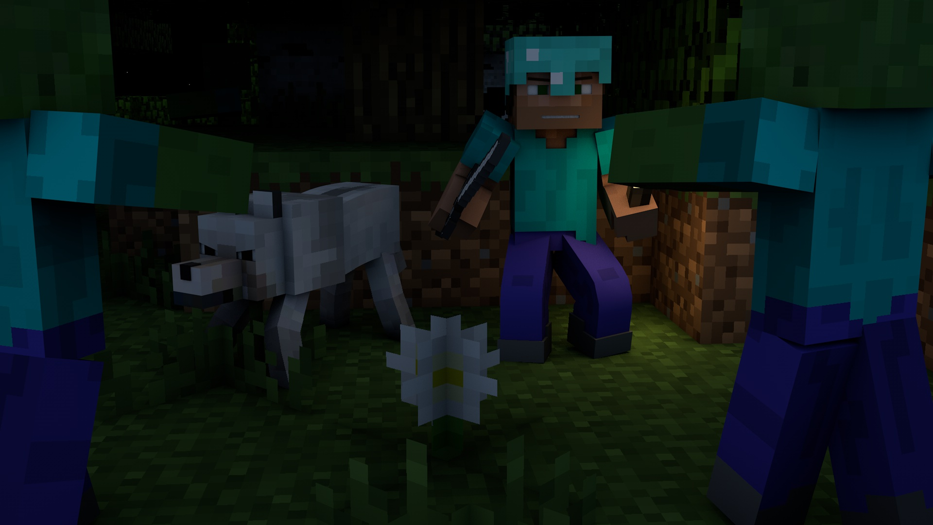 cool wallpapers of minecraft zombies - photo #1