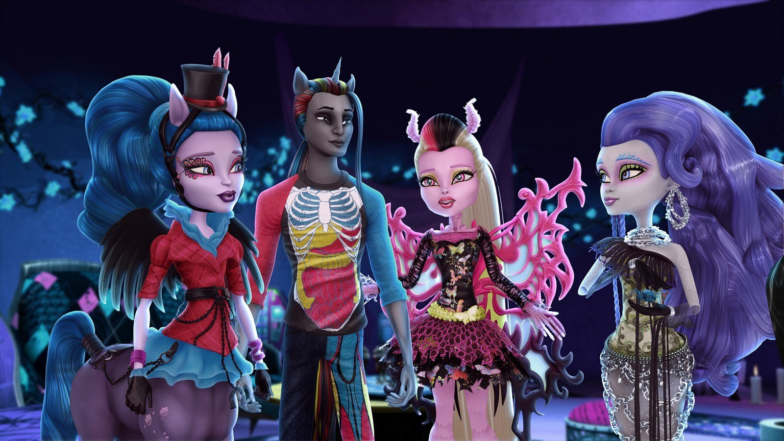 1 Monster High Freaky Fusion Hd Wallpapers Backgrounds