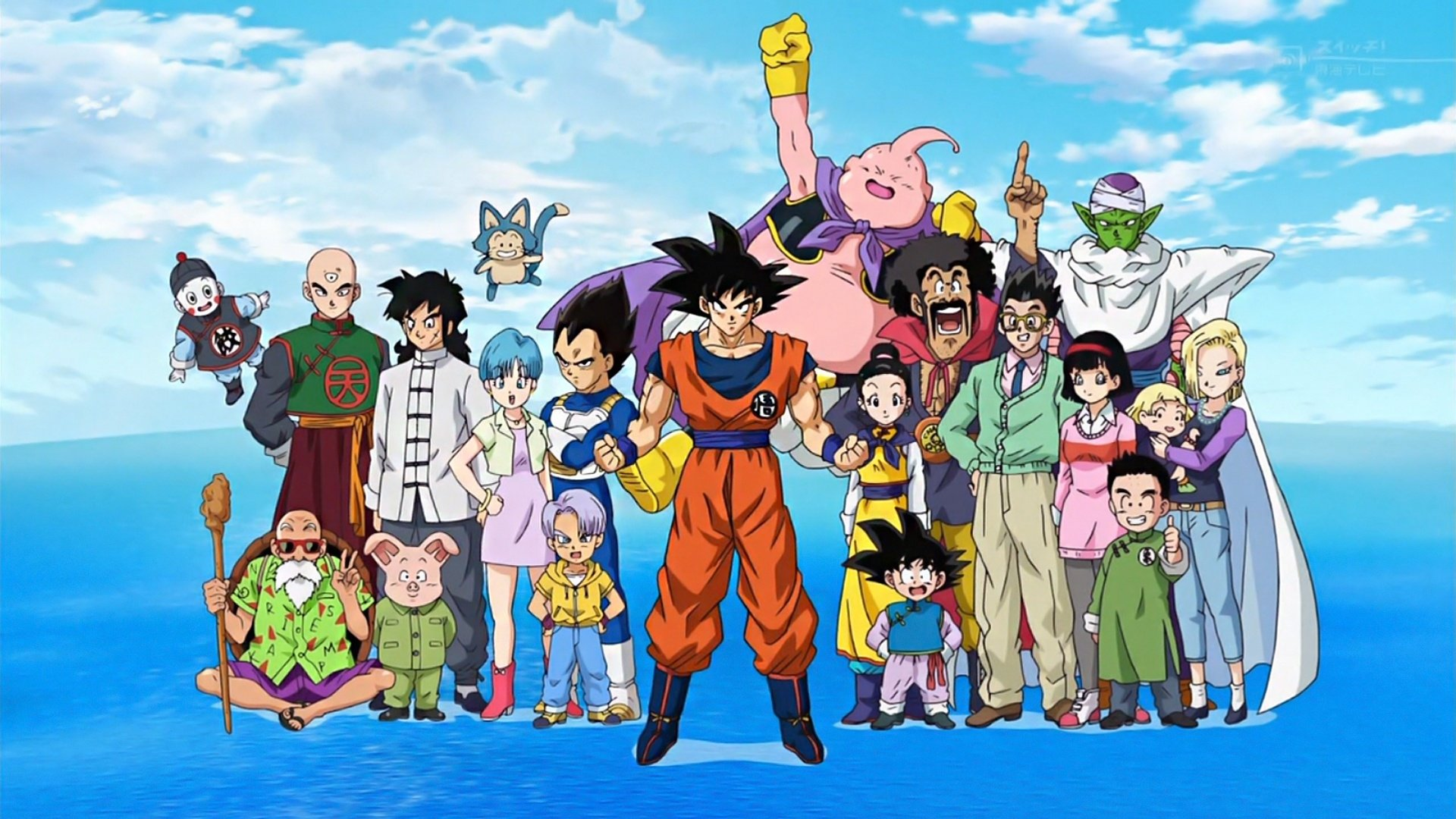 Dragon Ball Super poster Full HD Wallpaper and Background