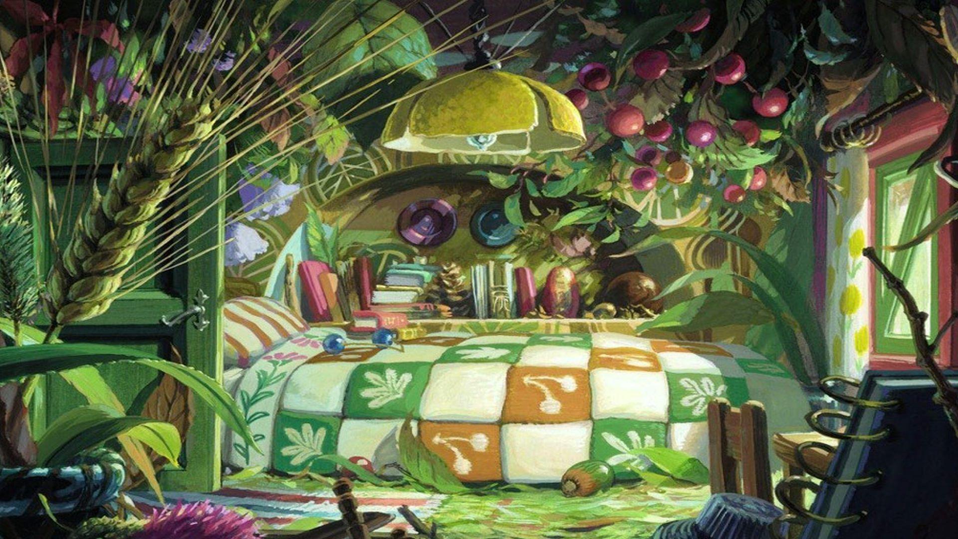 arrietty le petit monde des chapardeurs full hd fond d 39 cran and arri re plan 1920x1080 id. Black Bedroom Furniture Sets. Home Design Ideas