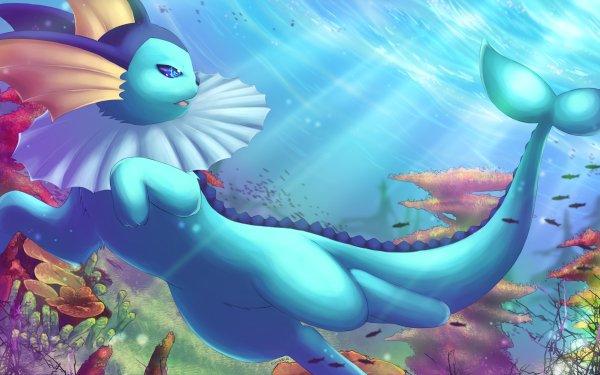 Anime Pokémon Vaporeon Water Pokémon HD Wallpaper | Background Image