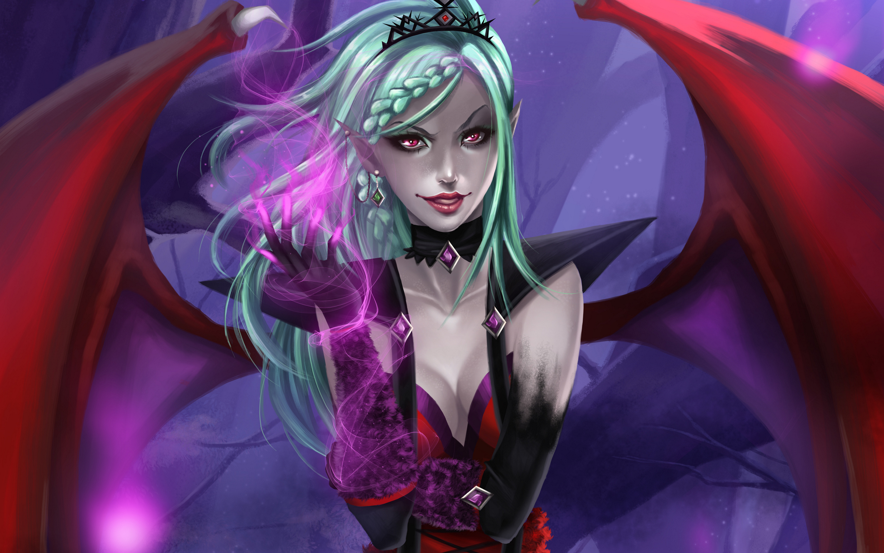 Succubus Full Hd Wallpaper And Background Image  2880X1800  Id616936-4952