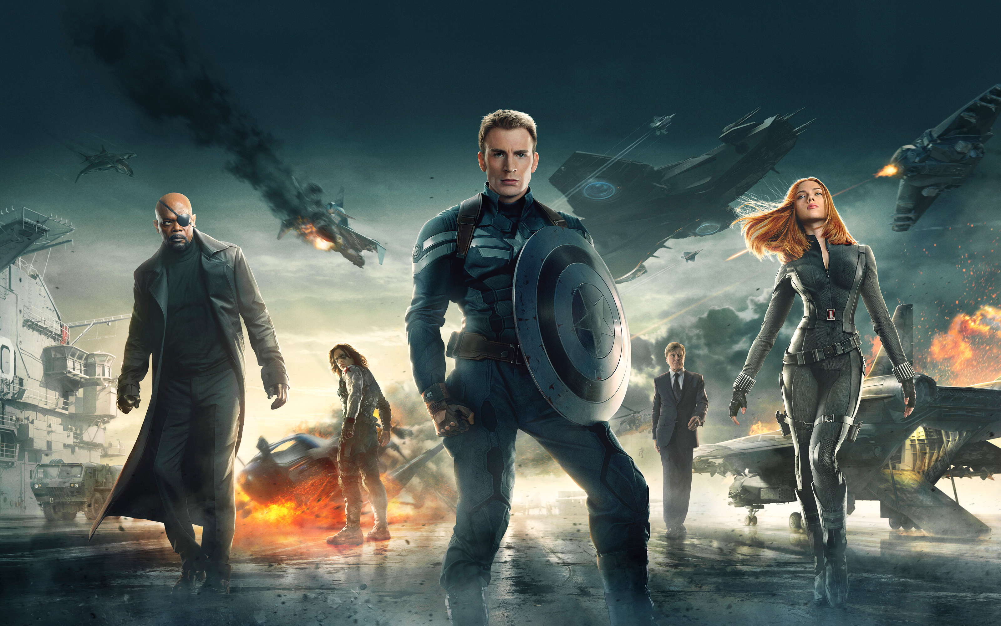 Captain America The Winter Soldier Hd Wallpaper Background Image