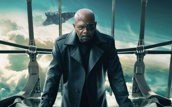 Film Captain America, le soldat de l'hiver Captain America Samuel L. Jackson Nick Fury Eye Patch Fond d'écran HD | Image