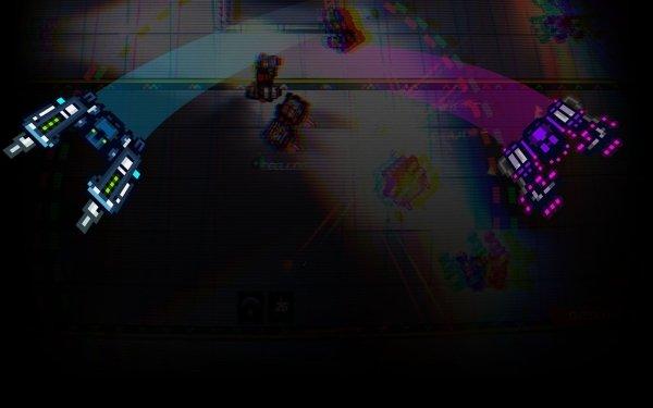 Video Game Broken Bots HD Wallpaper   Background Image