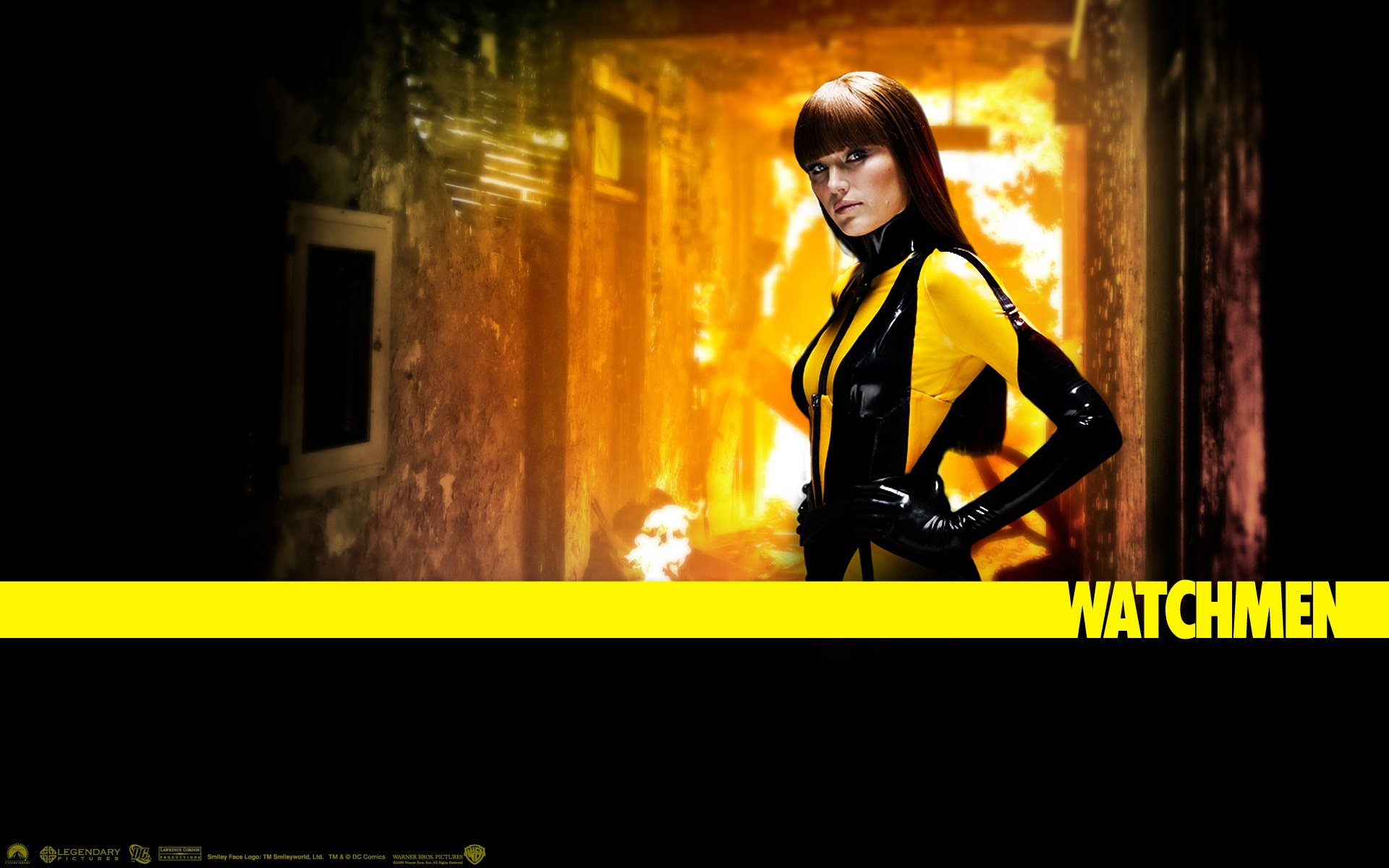 Films - Watchmen  Silk Spectre Wallpaper