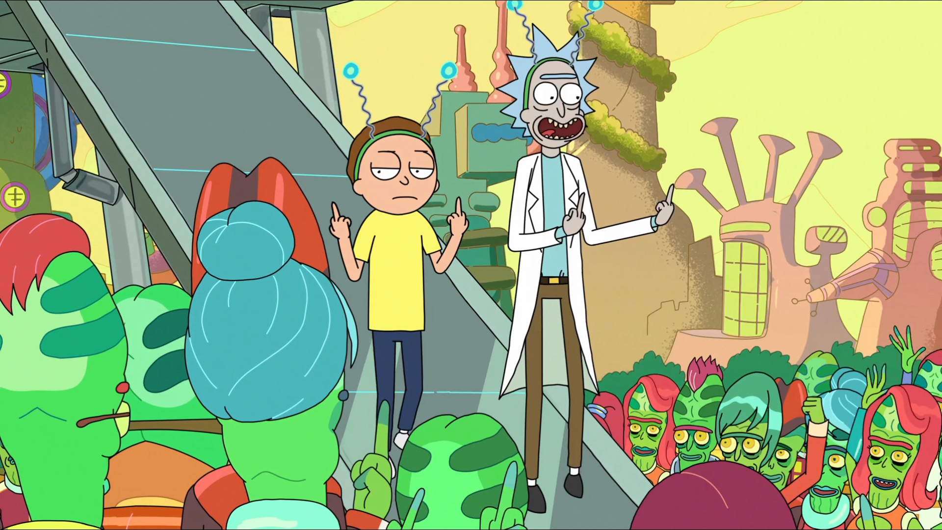 hd wallpaper background id633288 1920x1080 tv show rick and morty
