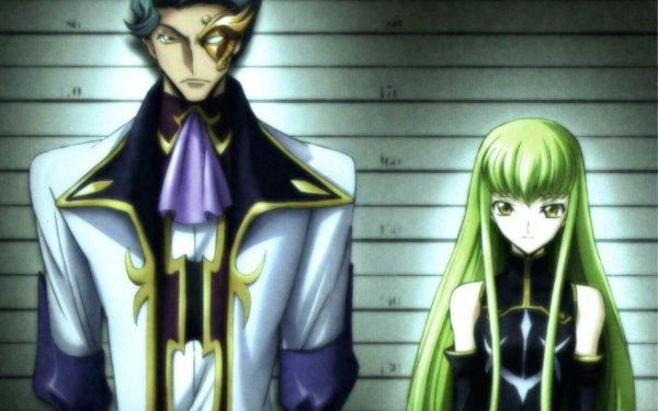 Anime Code Geass C.C. Jeremiah Gottwald HD Wallpaper   Background Image