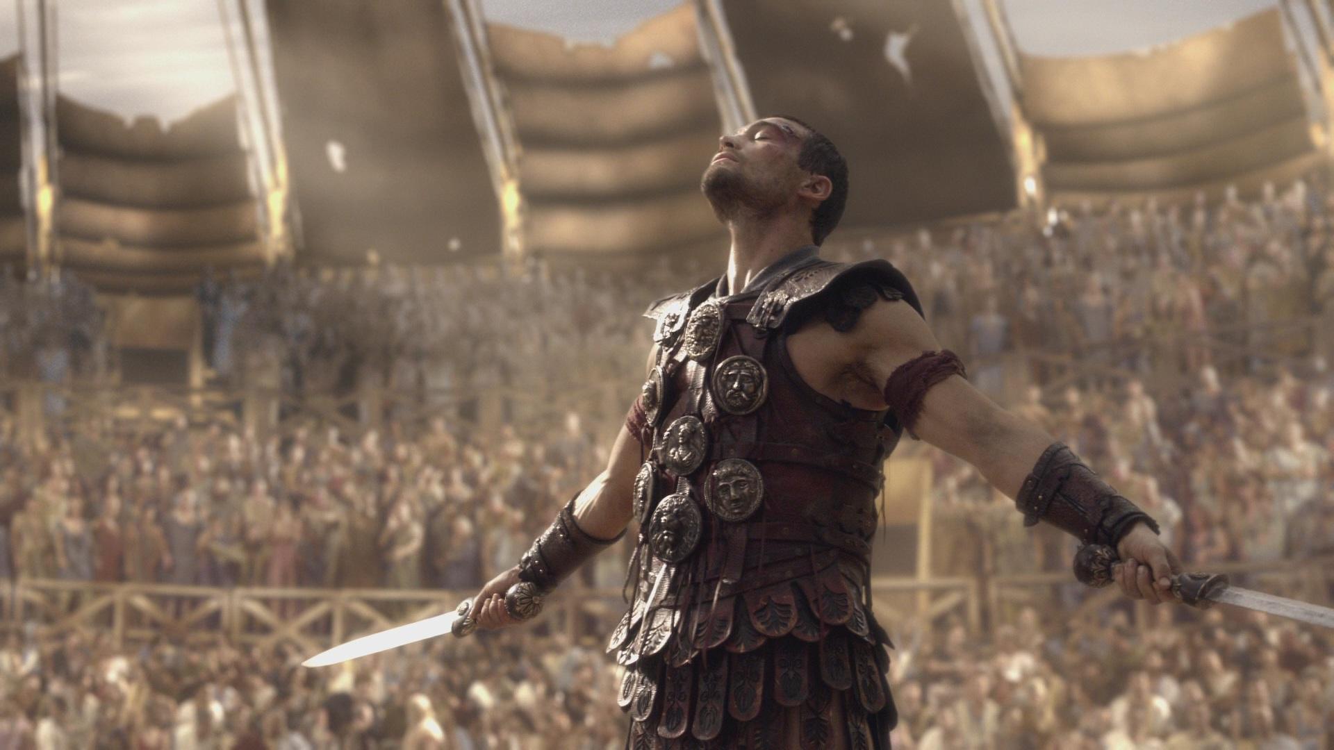 Spartakus: Krew i Piach - najlepsze seriale historyczne