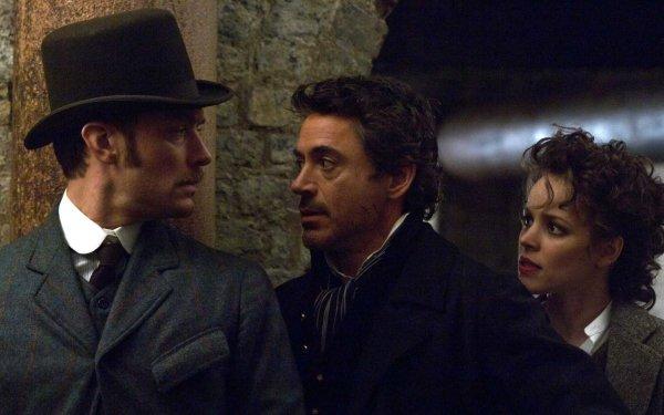 Movie Sherlock Holmes Robert Downey Jr. Jude Law Rachel Mcadams HD Wallpaper | Background Image
