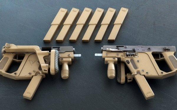 Weapons KRISS Vector Magazine Submachine Gun HD Wallpaper | Background Image