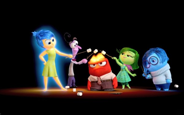 Movie Inside Out Joy Sadness Anger Fear Disgust HD Wallpaper | Background Image