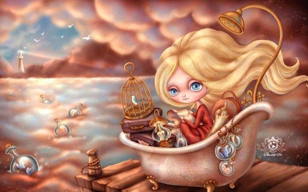 Fantasy Fairy Tale Cute HD Wallpaper   Background Image