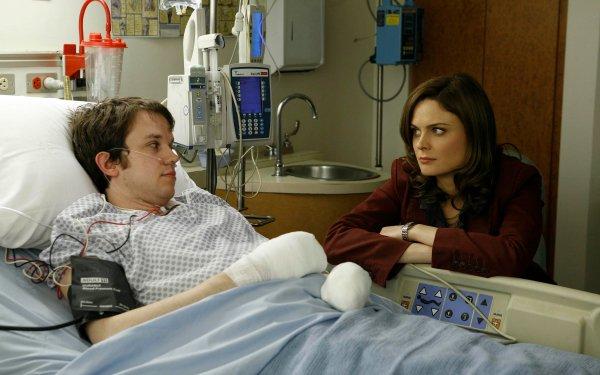 TV Show Bones Eric Millegan Zack Addy Temperance Brennan Emily Deschanel HD Wallpaper   Background Image